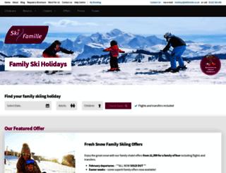 skifamille.co.uk screenshot