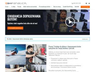 skifanatic.pl screenshot