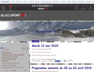 skihautethur.sport24.com screenshot