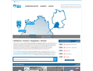 skiinfo.de screenshot