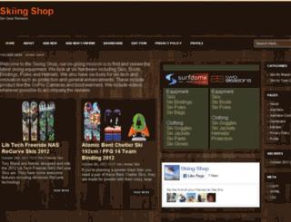 skiing-shop.co.uk screenshot