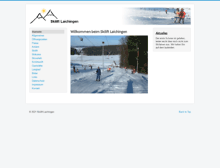 skilift-laichingen.de screenshot