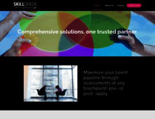 skillcheck.com screenshot
