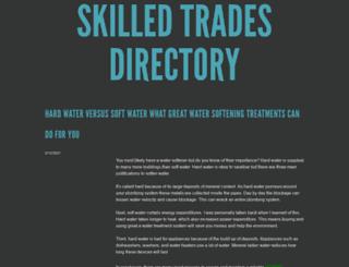 skilledtradesdirectory.com screenshot