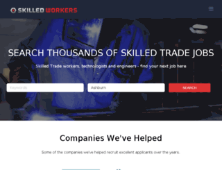 skilledworkers.com screenshot
