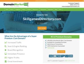 skillgamesdirectory.com screenshot