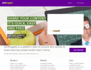 skillnuggets.com screenshot