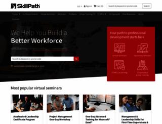 skillpath.com screenshot