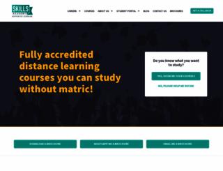 skillsacademy.co.za screenshot