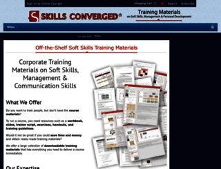 skillsconverged.com screenshot