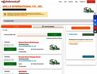 skillsintl.workabroad.ph screenshot