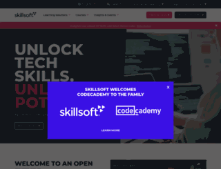 skillsoft.com screenshot