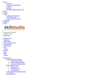 skillstudio.co.uk screenshot