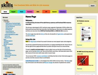 skillsworkshop.org screenshot