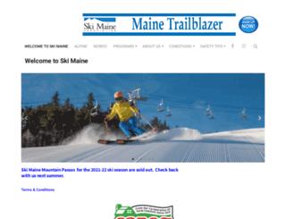 skimaine.com screenshot