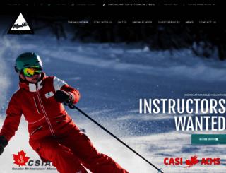 skimarble.com screenshot