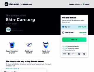 skin-care.org screenshot