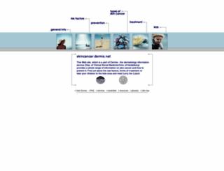 skincancer.dermis.net screenshot