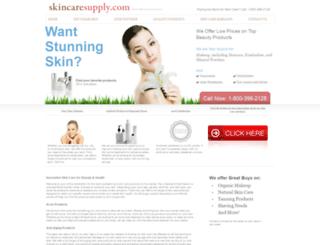 skincaresupply.com screenshot