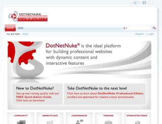 skindemo.dnnsmart.net screenshot