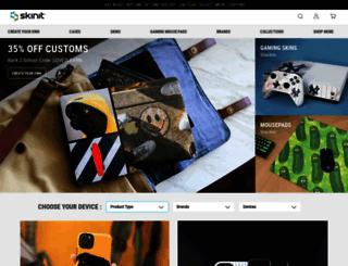 skinit.com screenshot