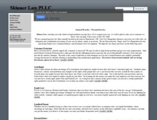 skinnerlawpllc.com screenshot