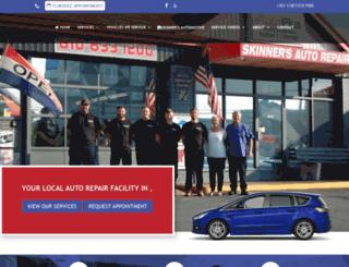 skinnersauto.com screenshot