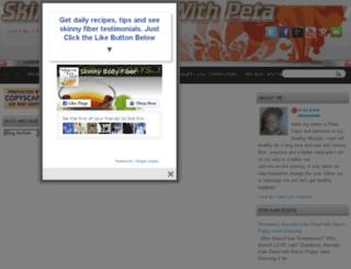 skinnyfiberwithpeta.blogspot.com screenshot