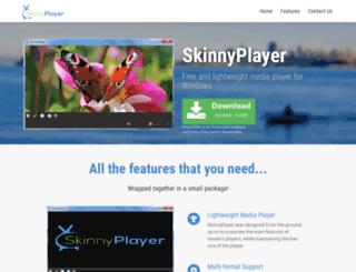 skinnyplayer.org screenshot