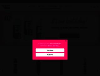 skinnytan.com.au screenshot
