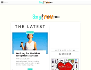 skinnyyum.com screenshot