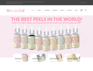 skinpeelshop.com screenshot