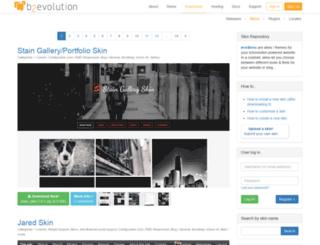 skins.b2evolution.net screenshot