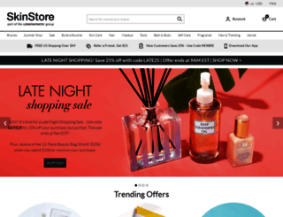 skinstore.com screenshot