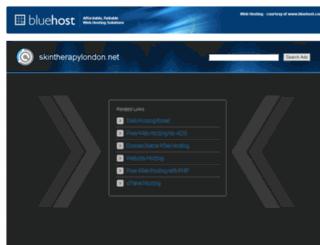 skintherapylondon.net screenshot