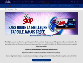 skip.fr screenshot
