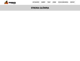 skiparkmagura.eu screenshot