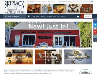 skipjacknauticalwares.com screenshot