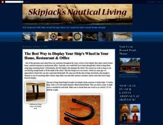 skipjacksnauticalliving.blogspot.de screenshot