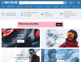 skiplusonline.co.uk screenshot