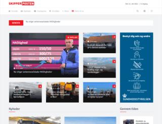 skipperposten.dk screenshot