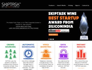 skiptask.com screenshot