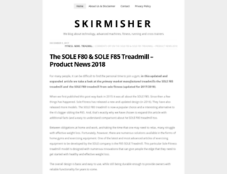 skirmisher.org screenshot