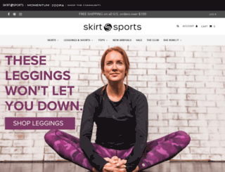 skirtsports.com screenshot