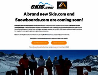skis.com screenshot
