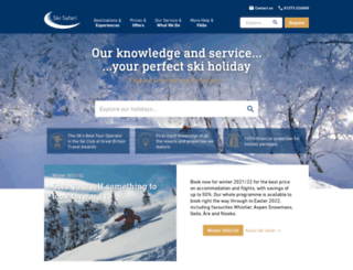 skisafariextras.com screenshot