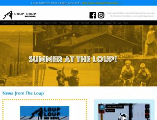 skitheloup.com screenshot