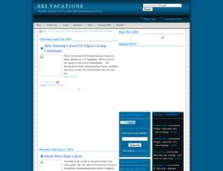 skivacations2009.blogspot.com screenshot