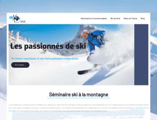 skiweb.fr screenshot
