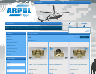 sklep.arpol.net.pl screenshot